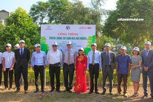 Toyota Việt Nam chung tay xanh hóa học đường