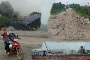 Bắc Giang: Người dân bức xúc vì cảng thủy tư nhân hoạt động gây ô nhiễm