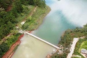Đua nhau băm nát di tích lịch sử văn hóa Quốc gia hồ Tuyền Lâm