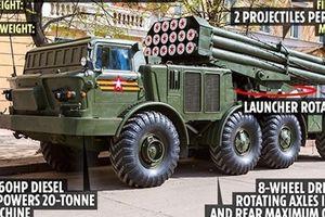 Phương Tây choáng váng với sức mạnh 'rồng lửa' Uragan của Quân đội Nga