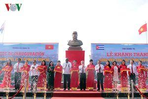 Khánh thành Công viên Fidel tại tỉnh Quảng Trị