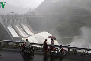 Thủy điện Bản Vẽ, Nghệ An xả hồ chứa, ứng phó với mưa lũ