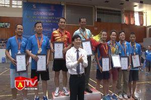 Sôi động Giải bóng bàn Hội Nhà báo Việt Nam