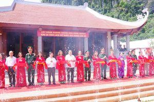 Khánh thành nhà dâng hương khu di tích lịch sử Quốc gia Lèn Hà