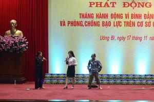 Quảng Ninh nỗ lực thúc đẩy công tác bình đẳng giới