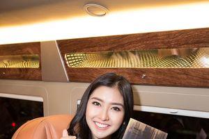 Nhan sắc rạng rỡ của Hoa hậu Quốc tế 2017 khi đến Việt Nam