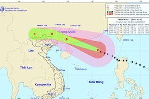 Siêu bão Mangkhut hướng vào Trung Quốc, Bắc Bộ có mưa lớn diện rộng