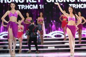 Clip top 15 thí sinh Hoa hậu Việt Nam 2018 diện bikini nóng bỏng