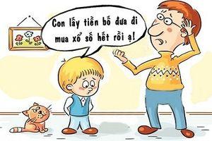Sáng cười: Cả nhà 'gặp họa' vì mộng đổi đời của con trai