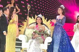 Trần Tiểu Vy là chủ nhân vương miện Hoa hậu Việt Nam 2018