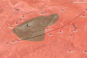 Quân đội Syria tốc chiến đè bẹp IS, chiếm liên tiếp 3 thị trấn trên sa mạc Homs – Deir Ezzor