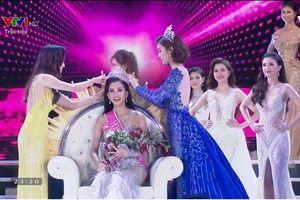 Tiểu Vy-Cô gái Quảng Nam 18 tuổi đăng quang Hoa hậu VN 2018