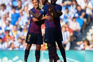 Sociedad 1-2 Barcelona: 'Bom tấn' Dembele tỏa sáng, Anoeta hết thiêng