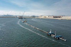 Bắt đầu thử nghiệm bẫy khổng lồ thu gom rác thải nhựa Thái Bình Dương
