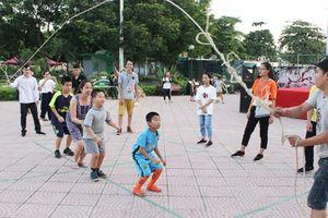 Ngày hội Olympic trò chơi dân gian khuấy động Phố đi bộ Trịnh Công Sơn