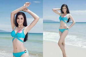 Tân hoa hậu Tiểu Vy trong trang phục bikini