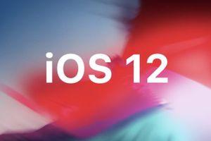 Đêm nay, Apple phát hành iOS 12