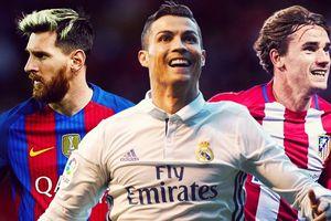 Griezmann tự đặt mình cùng đẳng cấp với Ronaldo, Messi