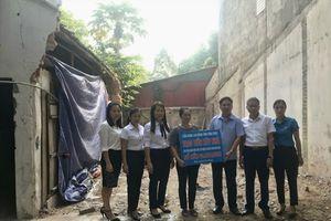 LĐLĐ tỉnh Vĩnh Phúc hỗ trợ kinh phí xây dựng nhà cho đoàn viên có hoàn cảnh khó khăn