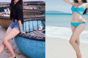 Tân Hoa hậu Việt Nam thích khoe đôi chân dài cả mét với quần, váy ngắn