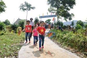 Hiến đất, xây trường học ở vùng cao