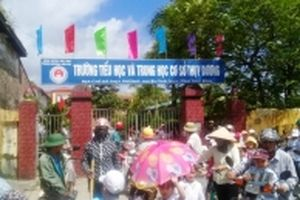 Sáp nhập trường ở Thái Bình - Lo nhiều hơn mừng