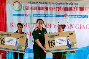 Trao nhà tình nghĩa và tặng quà đối tượng chính sách tại Tiền Giang