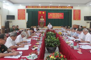 Hội thảo khoa học 'Lịch sử Lực lượng vũ trang nhân dân tỉnh Khánh Hòa giai đoạn 1975-2015'