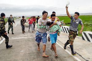 Trung Quốc căng mình chống siêu bão Mangkhut