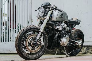 Thợ Sài Gòn độ Honda CB750 'cực gấu' cho dân chơi Vũng Tàu