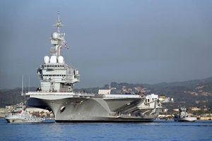 Vừa nâng cấp, tàu sân bay Pháp đã thẳng tiến tới Syria?