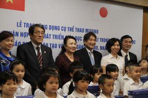 Nhật hỗ trợ Việt Nam chương trình giáo dục thể chất hiện đại