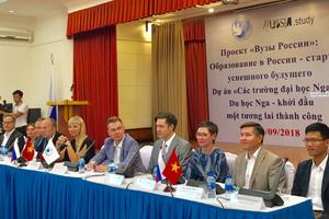 Khởi động giai đoạn 10 dự án 'Các trường đại học Nga'
