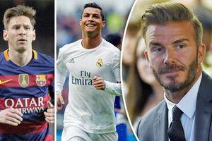 Đội bóng của Beckham sẽ mua cả Messi và Ronaldo