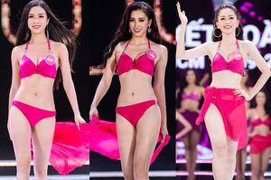 Nhìn lại phần thi bikini của Top 25 Hoa hậu Việt Nam 2018