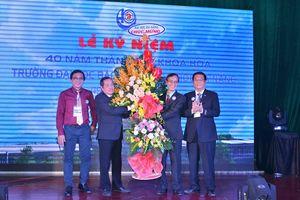 Khoa Hóa Trường ĐH Bách khoa - ĐH Đà Nẵng kỷ niệm 40 năm thành lập