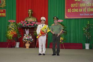 Đại tá Trần Văn Toản làm Giám đốc Công an Bình Thuận