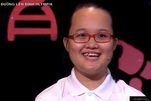 Thí sinh nữ đạt điểm số cao nhất cuộc thi tuần Olympia suốt 2 năm qua