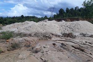 Vụ khai thác hàng trăm m3 cát trái phép: Xác định rõ vị trí nằm ở huyện Chư Păh (Gia Lai)