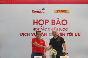 Sen Đỏ hợp tác cùng Công ty Vận chuyển Giao nhận Toàn cầu DHL
