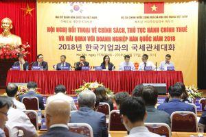 Bộ Tài chính đối thoại với doanh nghiệp Hàn Quốc: Sẵn sàng lắng nghe, giải đáp vướng mắc