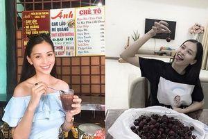 Soi Facebook và Instagram cá nhân, dân mạng đặt biệt danh cho Hoa hậu Tiểu Vy là 'Thánh ăn'