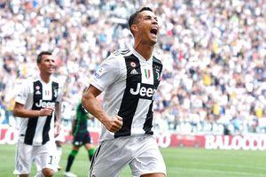 C.Ronaldo tỏa sáng rực rỡ giúp Juventus chiến thắng