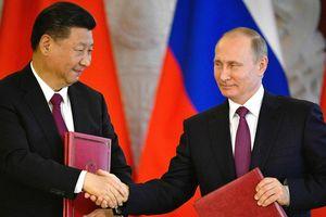 Nga - Trung ngày càng thúc đẩy mối quan hệ hợp tác chiến lược