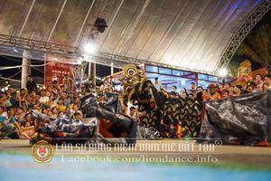 Liên hoan Lân Sư Rồng Quốc tế tranh Cup Helio lần 1 - 2018 thành công tốt đẹp