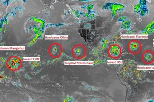 Dự báo bão: Các nước trên Thế giới đều không thể đưa dự báo tuyệt đối chính xác