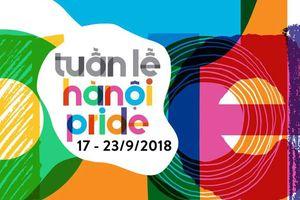 Tuần lễ Hanoi Pride 2018 chính thức khai mạc: Tràn ngập màu sắc cầu vồng