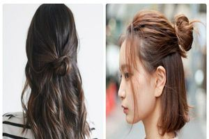Làm đẹp với 6 cách búi tóc ngắn đơn giản và trẻ trung