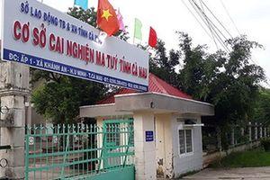 Cà Mau: Tiếp tục truy tìm những học viên còn lại trốn cơ sở cai nghiện ma túy