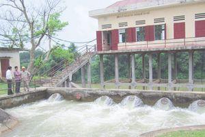 Chủ động khắc phục một số công trình thủy lợi hư hỏng, phục vụ sản xuất và dân sinh
